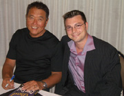 Robert Kiyosaki and I